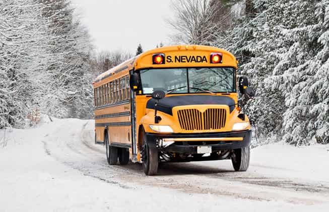 llegar en autobús a sierra nevada