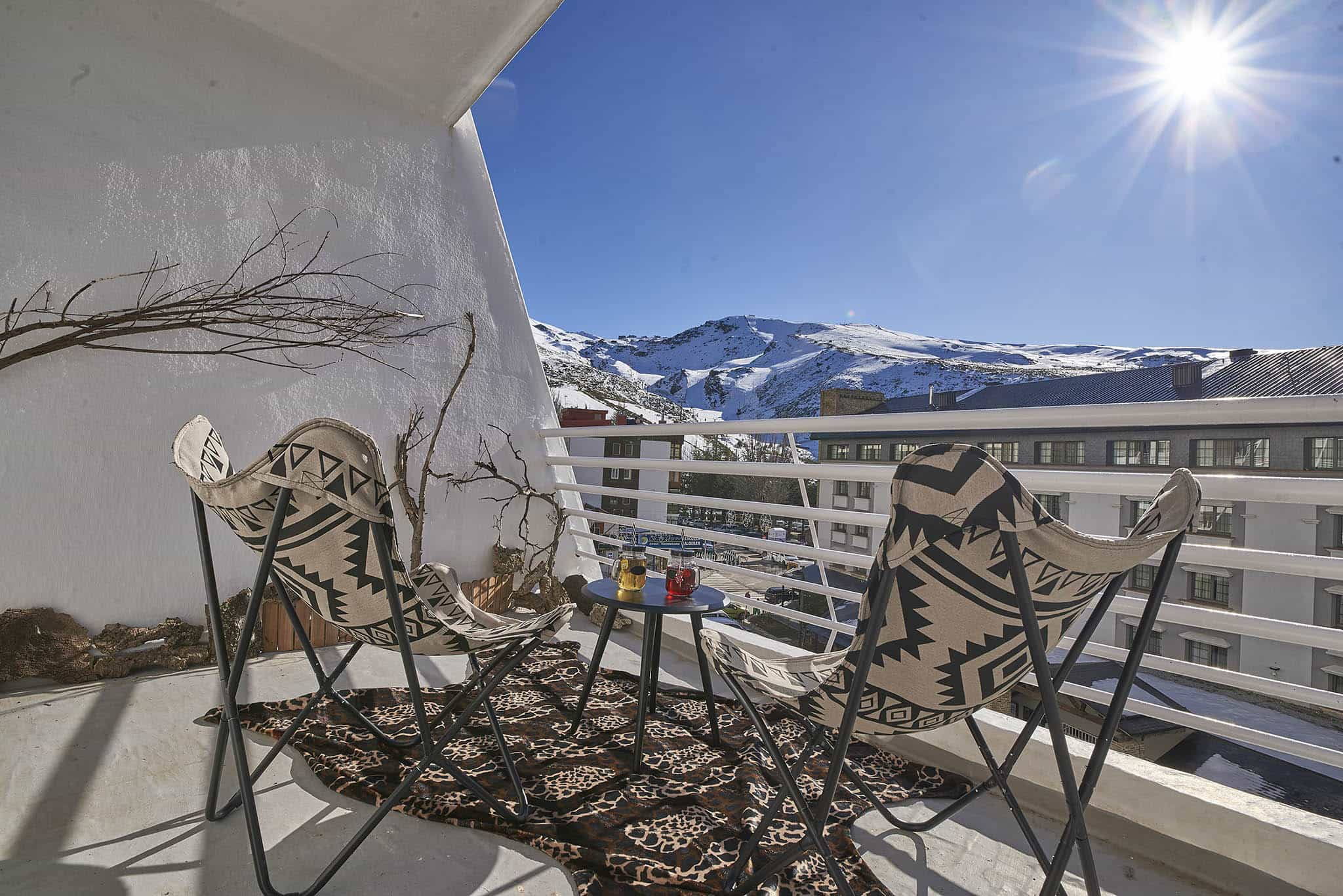 Terraza Snow Home Apartment